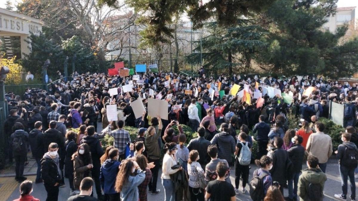 Boğaziçi Üniversitesi'ndeki gösterilere ilişkin yeni gelişme