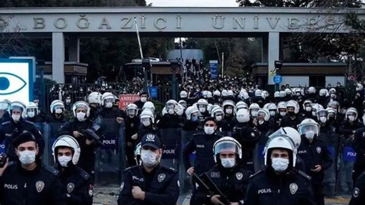 Boğaziçi'ndeki protesto soruşturmasında yeni gelişme: 21 kişi adliyeye sevk edildi