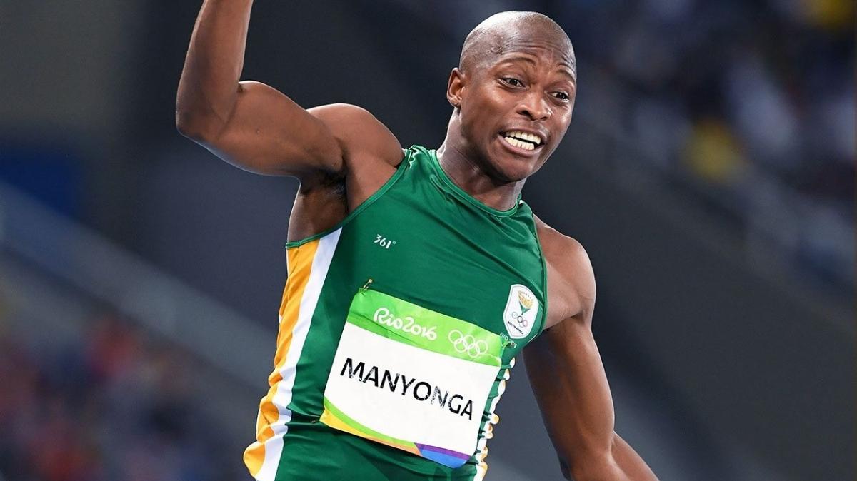 Dünyaca ünlü atlete men!