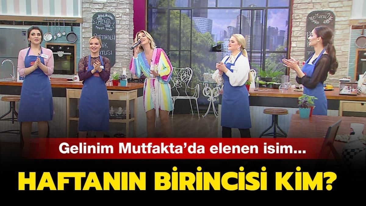 """Gelinim Mutfakta 8 Ocak puan durumu: Gelinim Mutfakta kim elendi, haftanın birincisi kim oldu"""""""