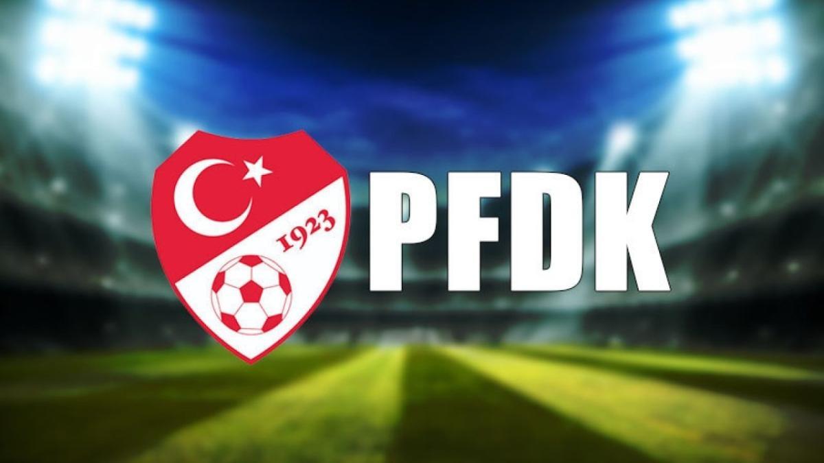Kayserispor, Hatayspor ve Fatih Karagümrük PFDK'ya sevk edildi