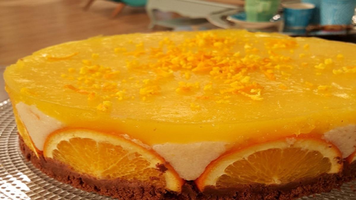 """Gelinim Mutfakta portakallı irmik tatlısı tarifi, malzemeleri! Portakallı irmik tatlısı nasıl yapılır"""""""