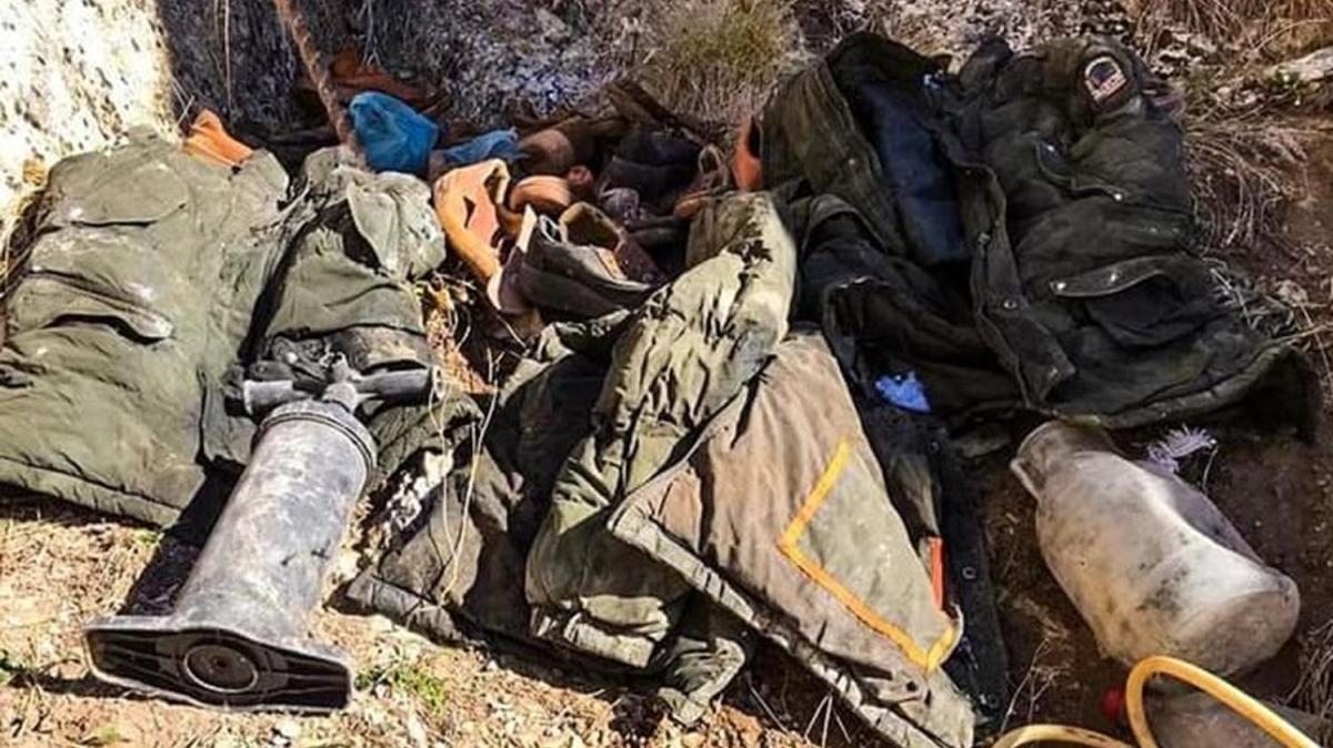 Son dakika haberleri... Erzincan'da terör örgütü PKK'ya ait 8 mağara imha edildi