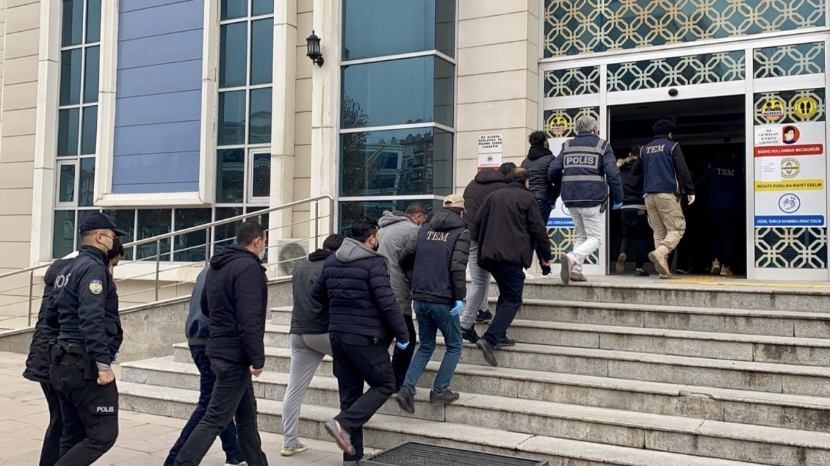 Kırşehir'de DEAŞ operasyonu: 24 şüpheli adliyeye sevk edildi