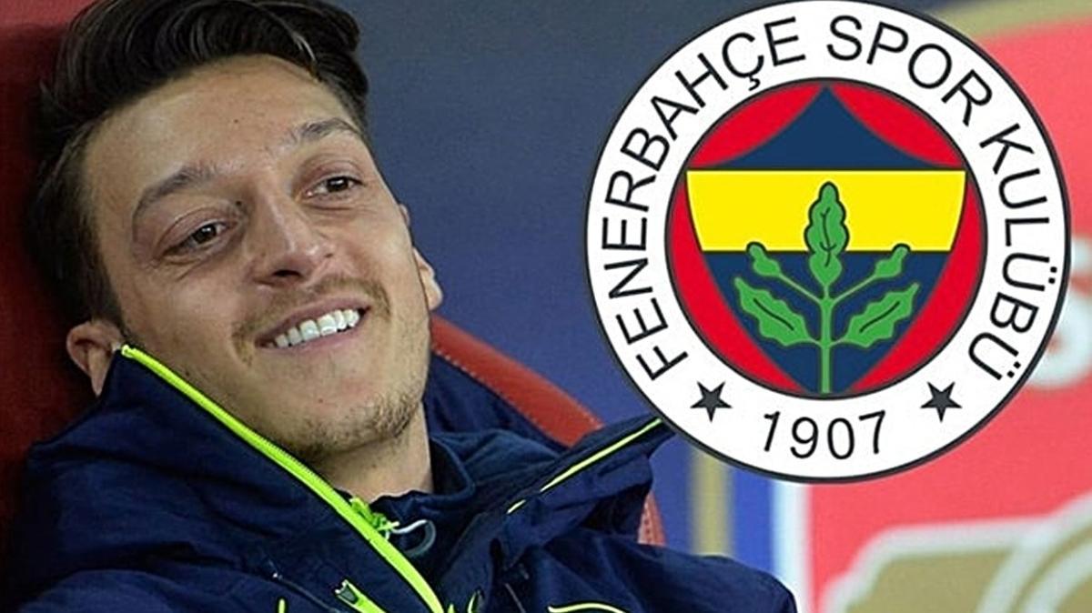 Son dakika: Ve Mesut Özil Fenerbahçe'de! 3,5 yıllık sözleşmeyi imzaladı