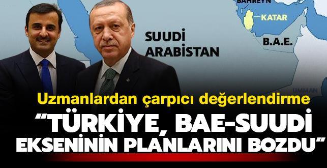 Türkiye Katar'ın yanında durdu: BAE- Suudi ekseninin planlarını bozdu