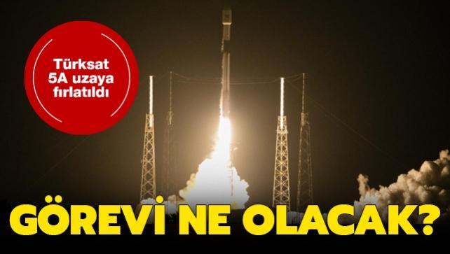 """Türksat 5A uzayda ne görev yapacak"""""""