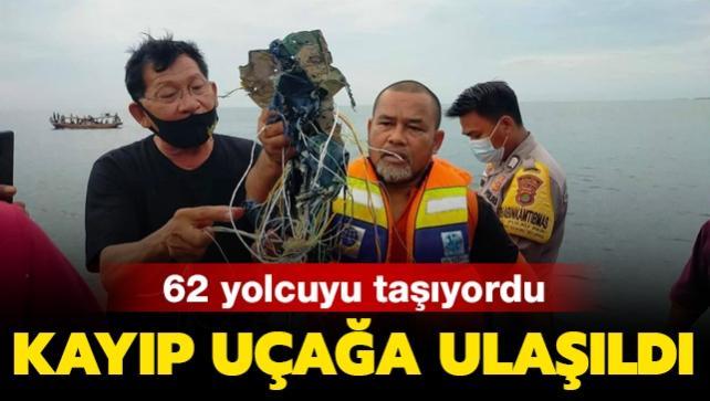 Son dakika haberi: Endonezya'daki kayıp yolcu uçağına ulaşıldı