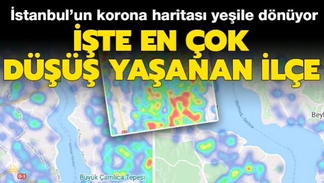 Son dakika haberi: İstanbul'da koronavirüs vaka sayılarında en çok ve en az düşüş yaşanan ilçeler açıklandı