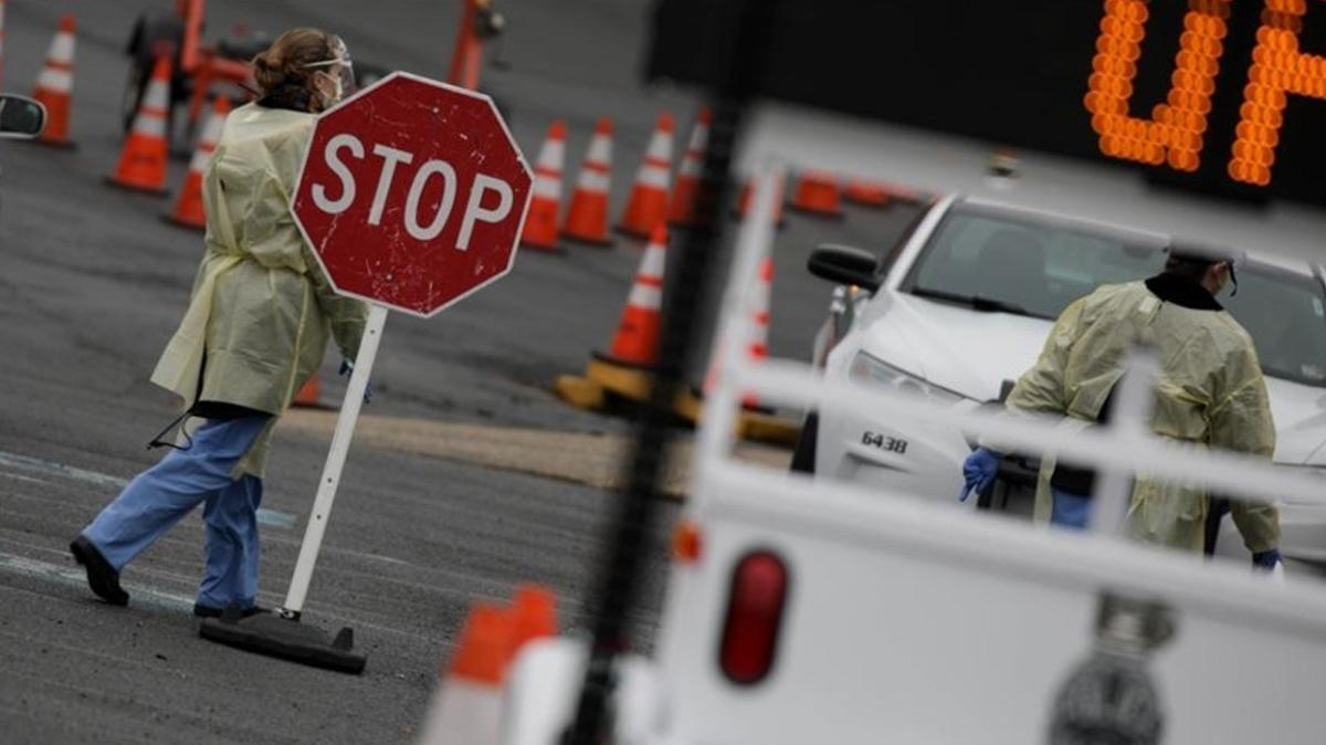 ABD'de koronavirüs salgını bilançosu... Sayı 378 bini aştı
