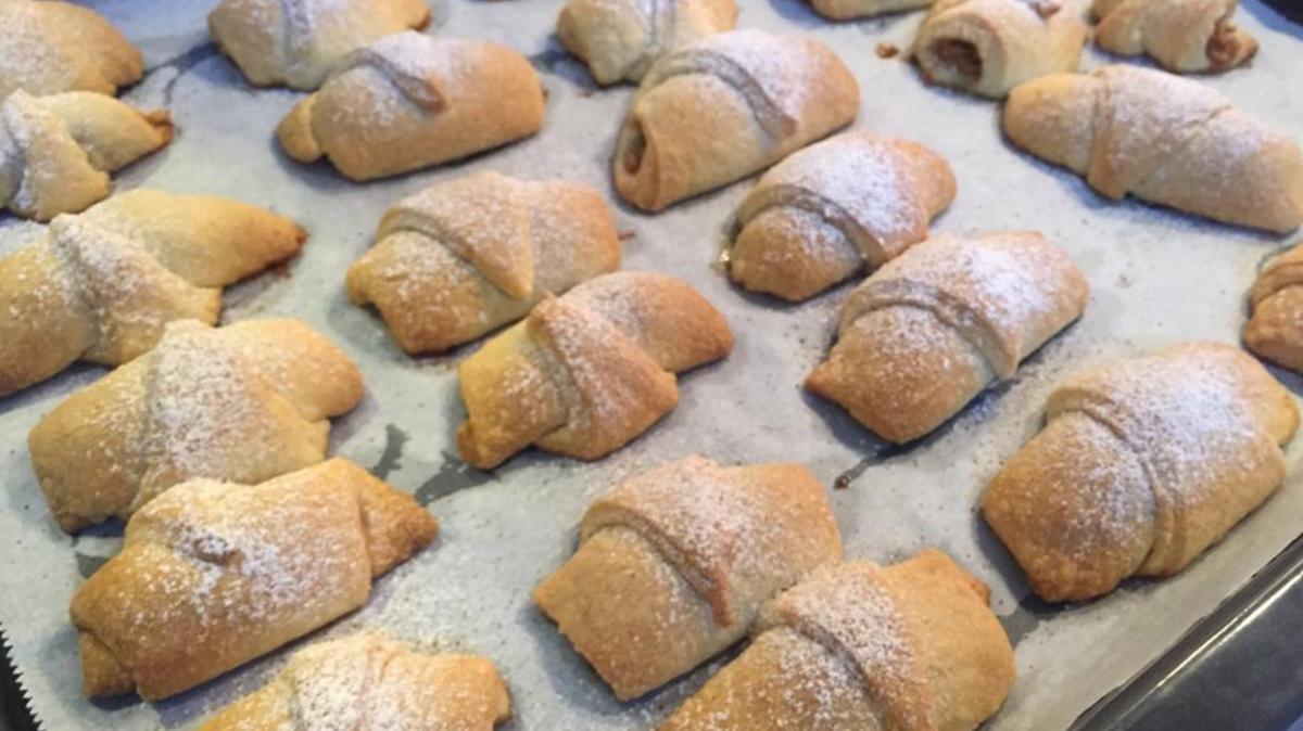 Fotoğraflarla adım adım elmalı kurabiye tarifi