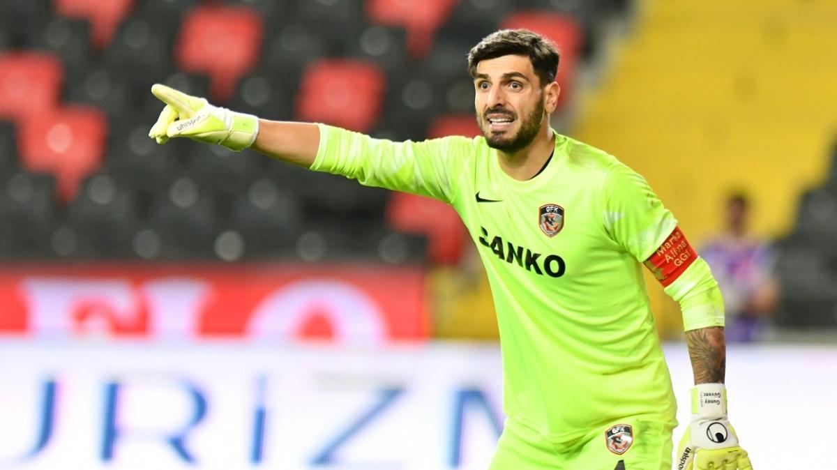 Gaziantep FK, kalecisi Günay Güvenç ile 3 yıllık yeni sözleşme imzaladı
