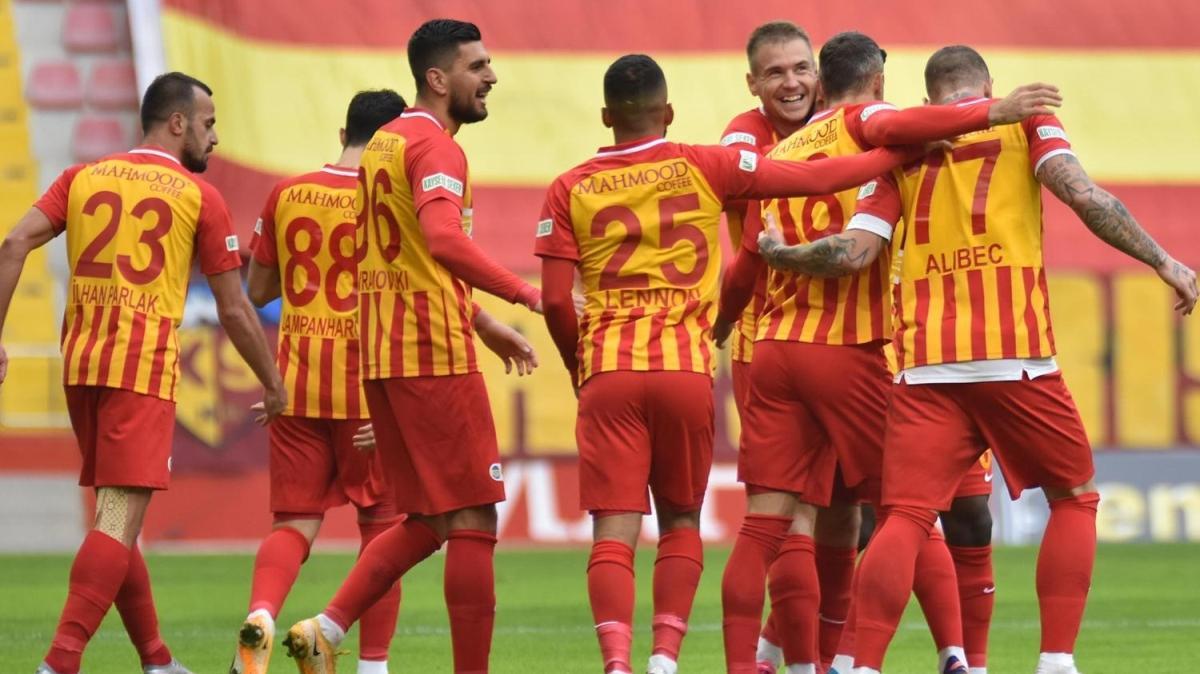 Kayserispor, Denizlispor'un ardından Yeni Malatyaspor'u da yendi