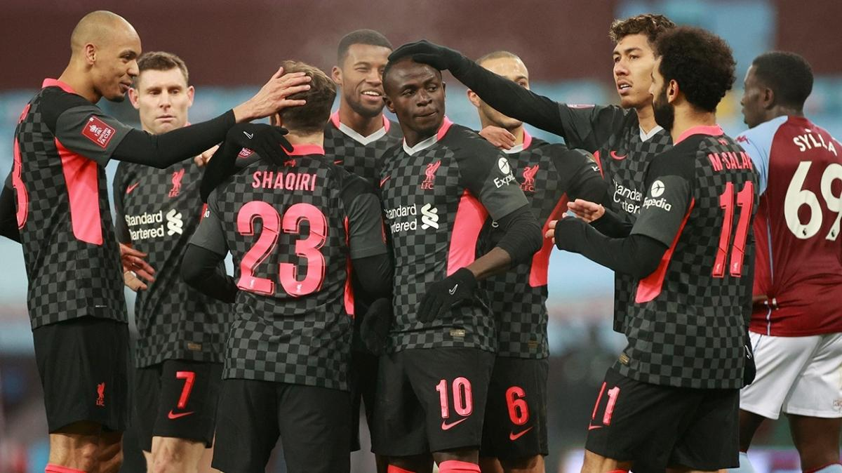 Liverpool, Aston Villa U23'ü 4-1 yendi