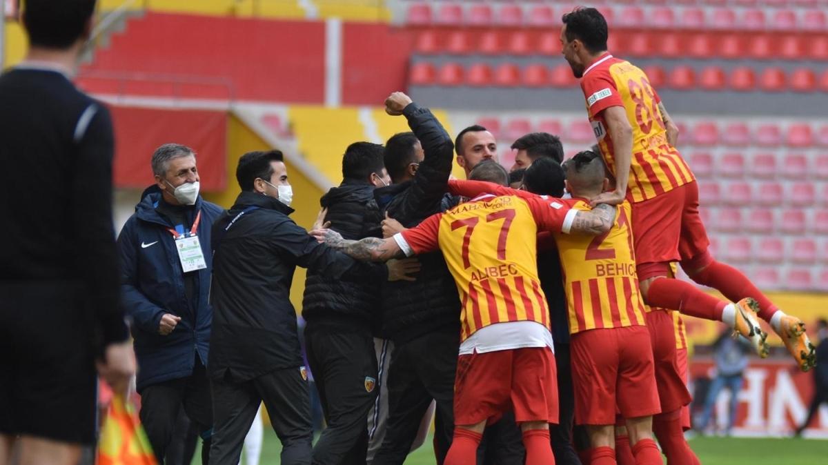 Kayserispor-Yeni Malatyaspor maçının ardından