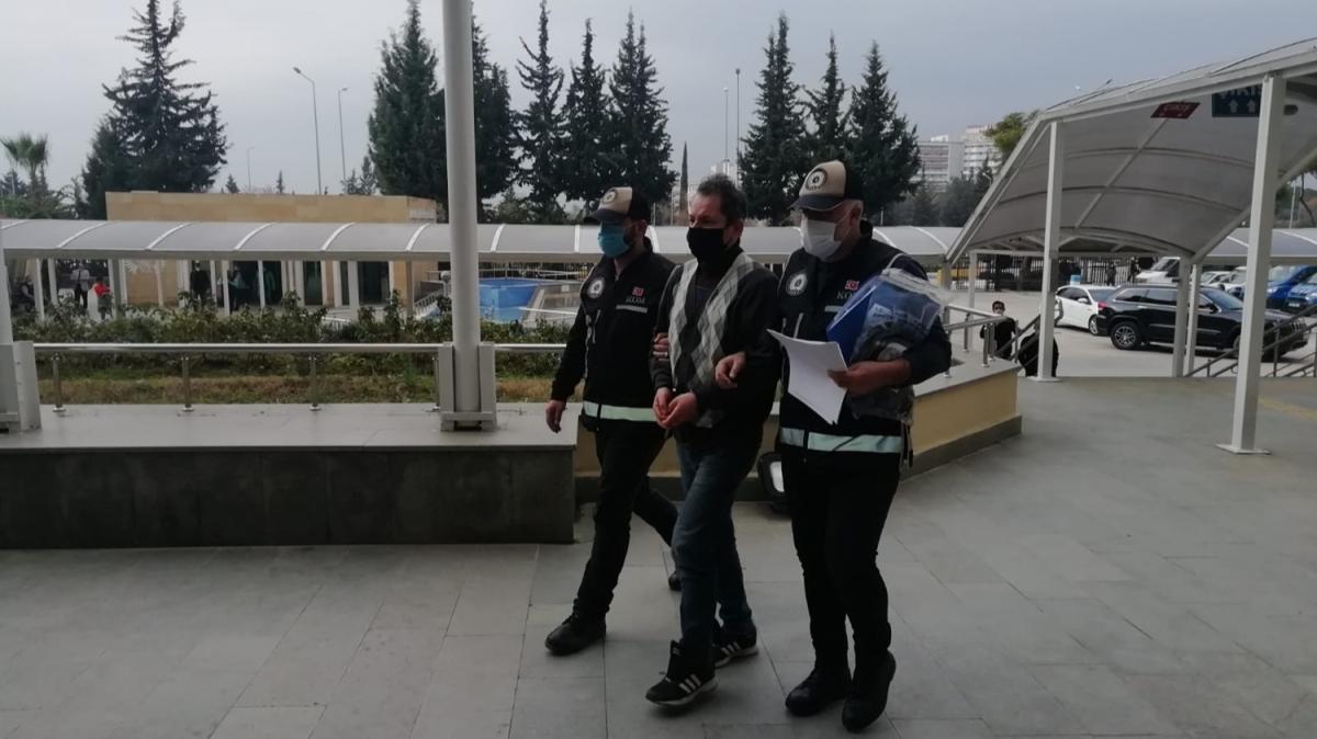 Saçını uzatıp şapka ve maske takan MİT tırları firarisinin planlarını polis bozdu