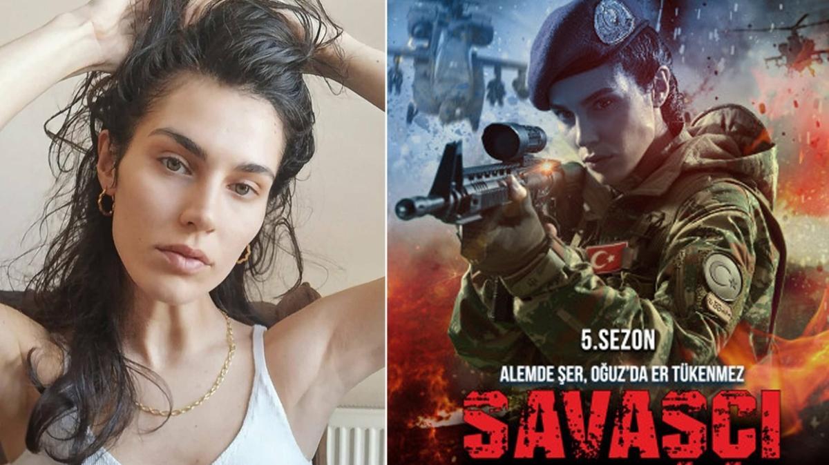 Savaşçı dizisi hayranlarını sevindiren haber! Serenay Aktaş Teğmen Selcen Efe rolü ile kadroya dahil oldu