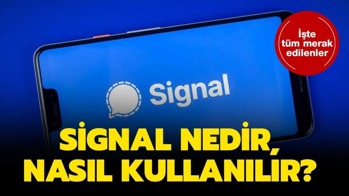 """Signal nedir, ücretsiz mi"""" WhatsApp'ın yerine önerilen Signal güvenli mi, nasıl indirilir"""""""