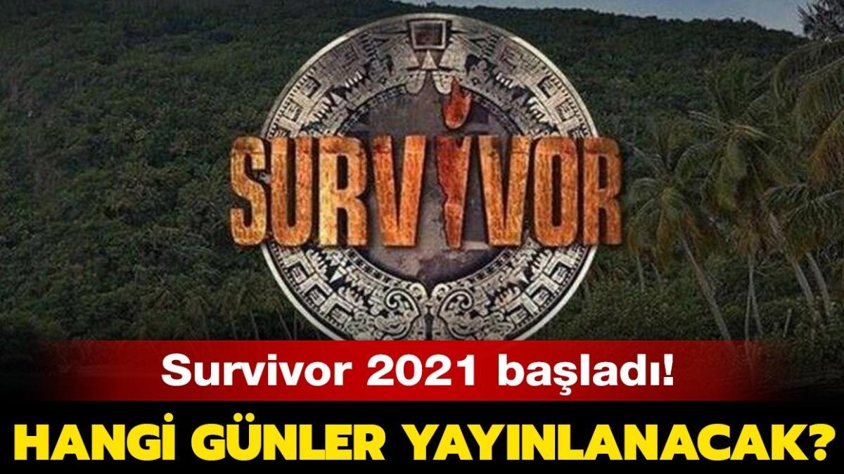 """Survivor 2021 hangi günler yayınlanacak"""" Survivor hangi kanalda, saat kaçta yayınlanıyor"""""""