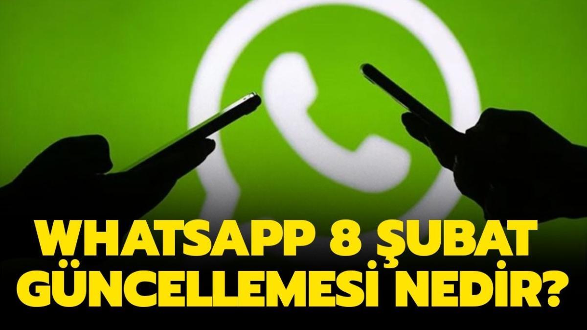 """WhatsApp kapanacak mı, ne olacak""""  WhatsApp 8 Şubat gizlilik güncellemesi ne anlama geliyor"""""""