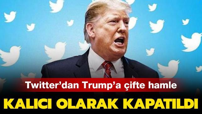"""Twitter'dan yeni Trump hamlesi: """"realDonaldTrump"""" askıya alındı"""