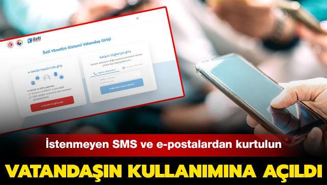 İstenmeyen SMS, e-posta ve sesli aramalardan kurtulun: 'Ticari Elektronik İleti Yönetim Sistemi' vatandaşın kullanımına açıldı