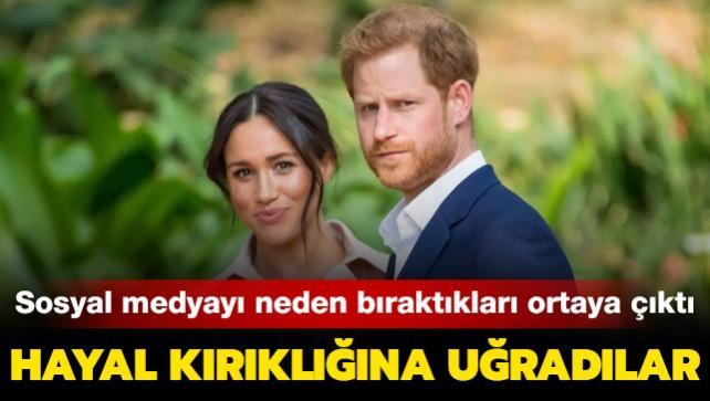 Prens Harry ve Meghan Markle'ın sosyal medyayı neden bıraktığı ortaya çıktı
