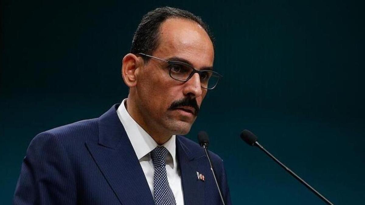Cumhurbaşkanlığı Sözcüsü Kalın'dan Kılıçdaroğlu'nun skandal sözlerine tepki