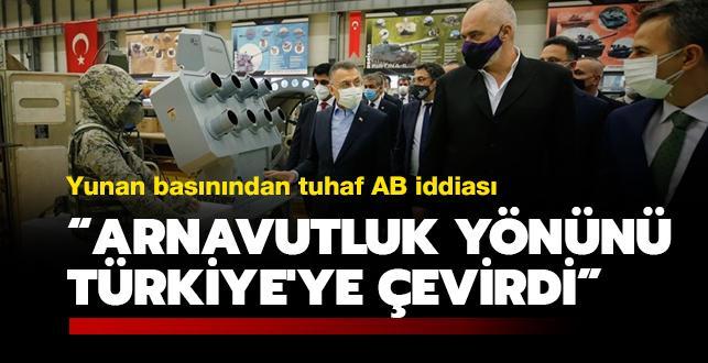 Yunan basınından tuhaf AB iddiası: Arnavutluk, yönünü Türkiye'ye çevirdi