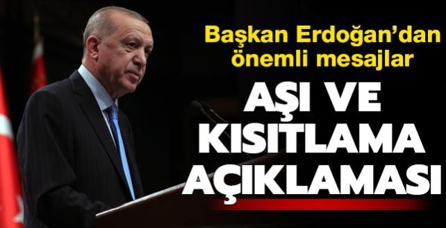 Kabine Toplantısı sonrası önemli açıklamalar... Başkan Erdoğan koronavirüs aşısı için tarih verdi