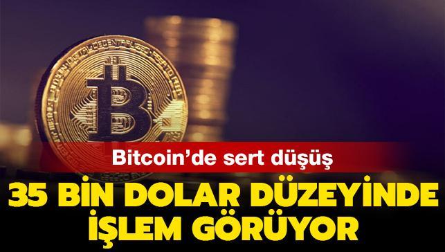 Son dakika haberleri... Bitcoin 35 bin dolar düzeyine düştü