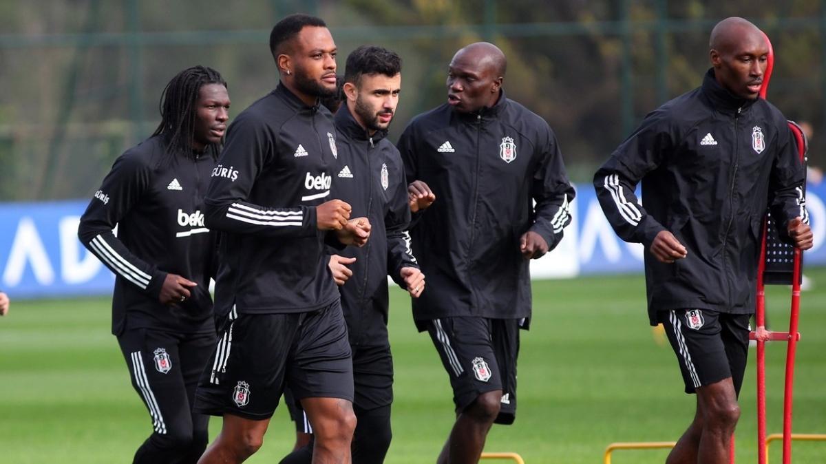 Beşiktaş'ta kupa mesaisi başladı