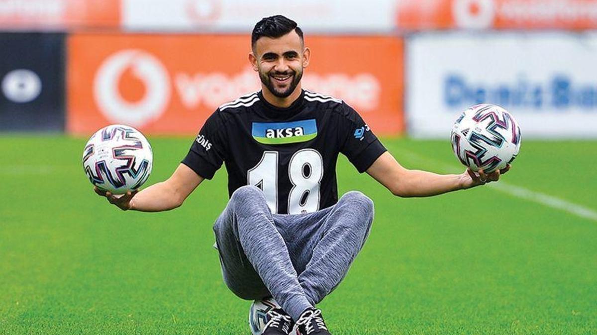 Rachid Ghezzal: Beşiktaş'taki ortamı Lyon'a benzetiyorum