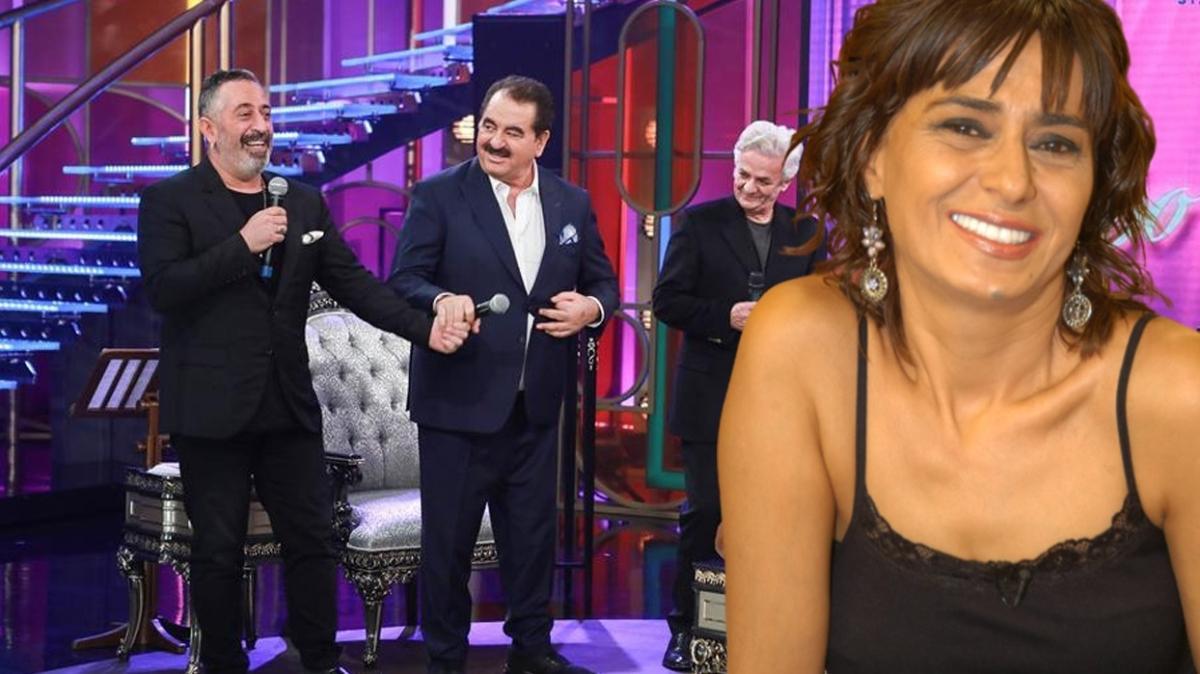 İbo Show'da Cem Yılmaz ve Zafer Algöz, Yıldız Tilbe şarkısı söyledi! İbrahim Tatlıses'in sözleri dikkat çekti