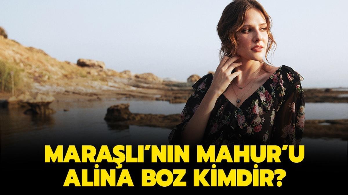 """Alina Boz kaç yaşında, aslen nereli"""" Maraşlı'nın Mahur'u Alina Boz kimdir"""""""