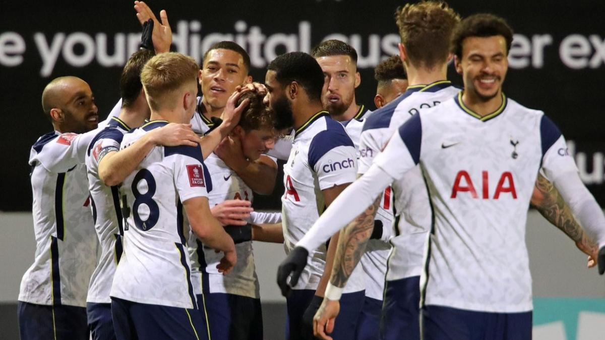 Mourinho'nun Tottenham'ı FA Cup'ta güle oynaya turladı
