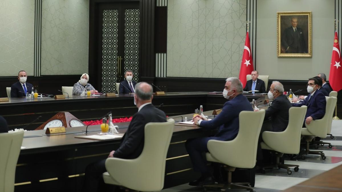 Son dakika haberi: Kabine toplantısı başladı