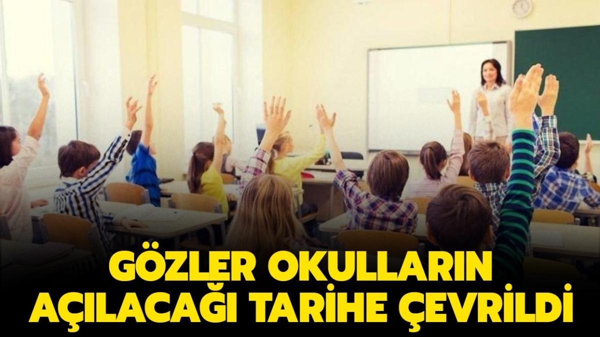 """Okullar ne zaman açılacak, yüz yüze eğitim ne zaman"""" MEB'ten yüz yüze eğitim açıklaması"""