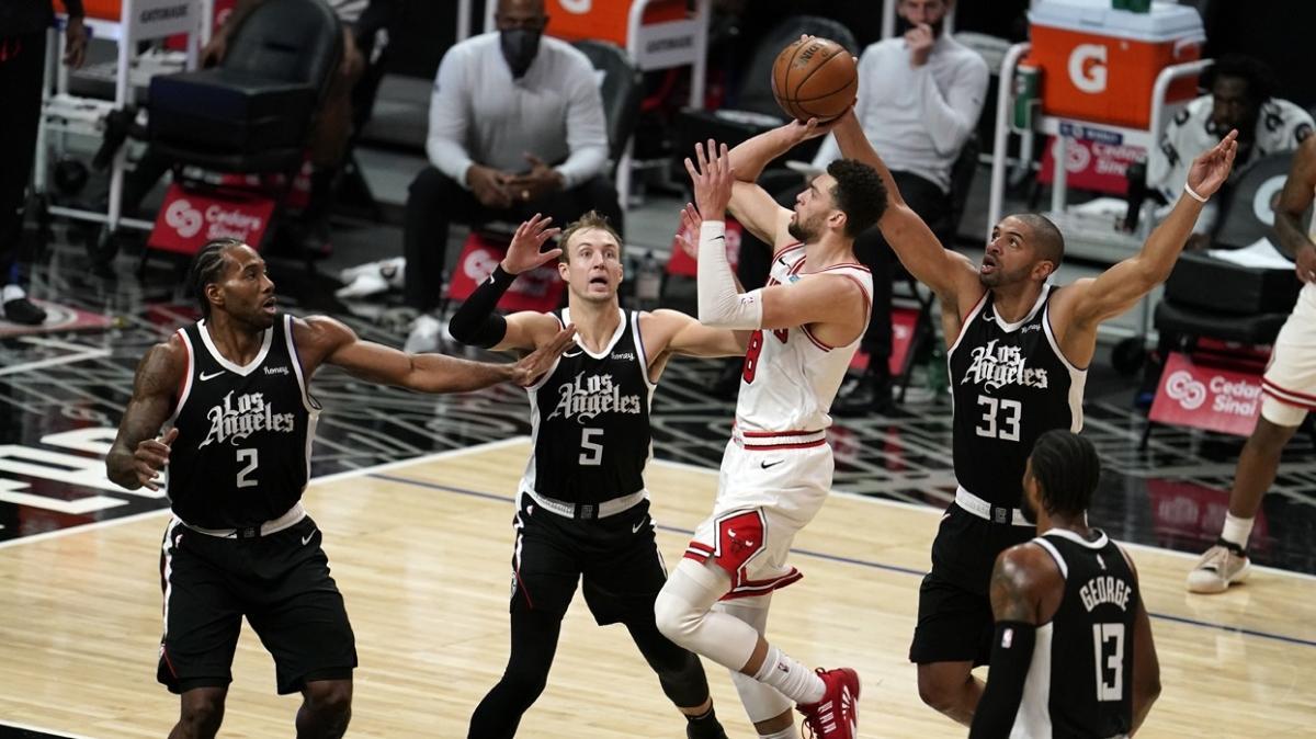 Zach LaVine'in 45 sayısı Chicago Bulls'a yetmedi