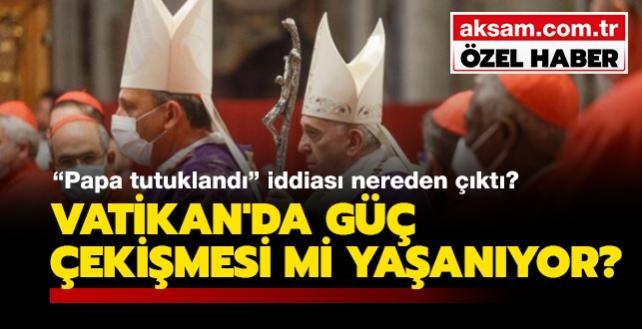 """""""Papa tutuklandı"""" iddiası nereden çıktı"""" Vatikan'da güç çekişmesi mi yaşanıyor"""" İtalyan akademisyen, Aksam.com.tr'ye konuştu"""