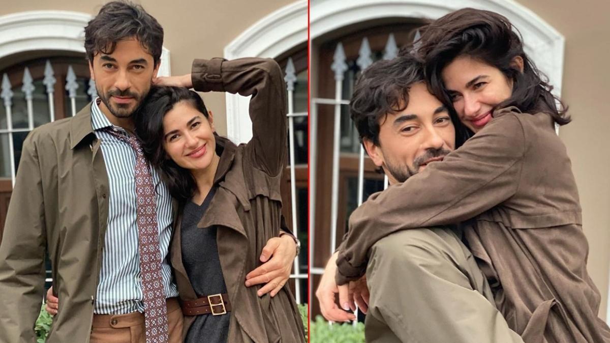 Yasak Elma dizisinden çıkan aşkın kahramanları Nesrin Cavadzade ve Gökhan Alkan'dan aşk dolu paylaşımlar
