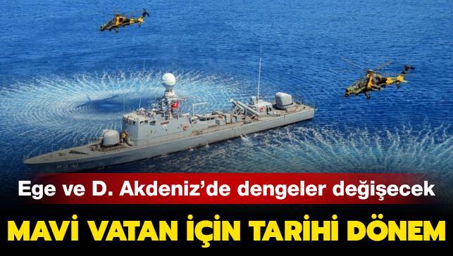 Türkiye, gözünü 2021'e dikti! Mavi Vatan için tarihi dönem