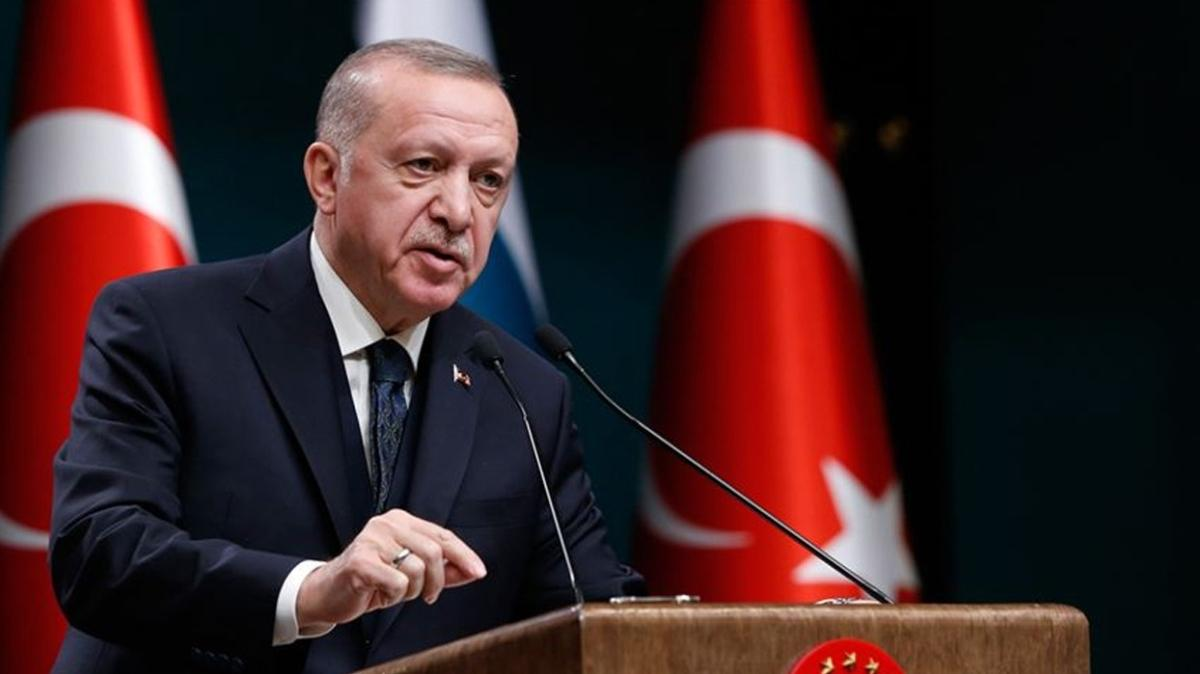 Başkan Erdoğan, kuraklık tehdidine dikkati çekti
