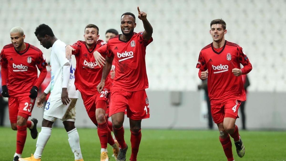Beşiktaş 85'te turladı: 1-0