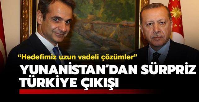 Yunanistan'dan sürpriz Türkiye çıkışı: Hedefimiz uzun vadeli çözümler