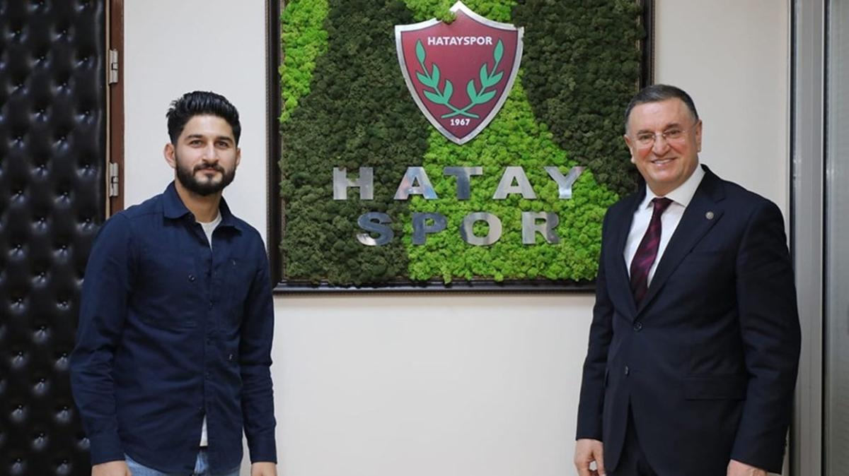 Hatayspor orta sahaya Muhammed Mert'i transfer etti