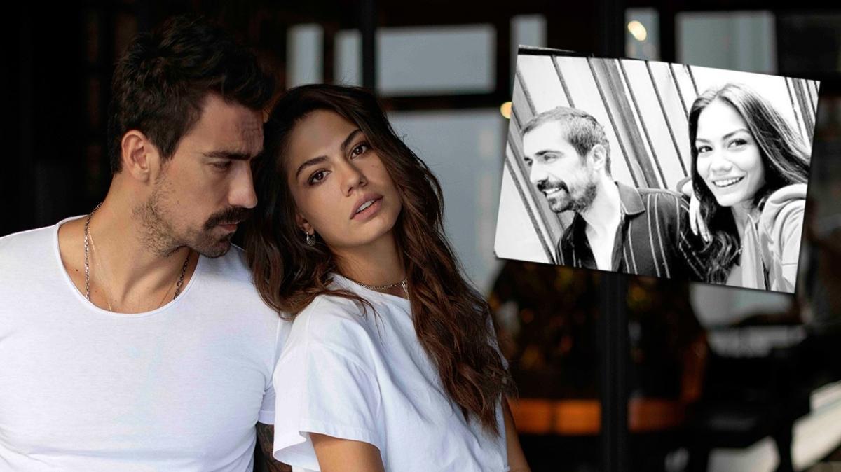 İbrahim Çelikkol paylaştı partneri Demet Özdemir kayıtsız kalmadı