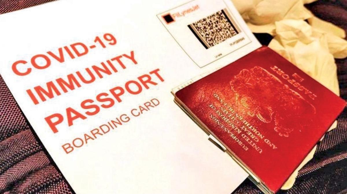 İngiltere koronavirüs pasaportu çıkarıyor