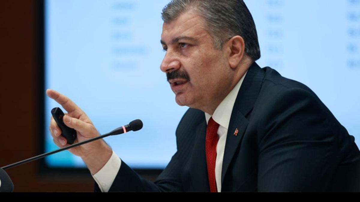 Son Dakika Haberi... Bakan Koca: Türkiye'de toplam aşılanan kişi sayısı 100 bini geçti