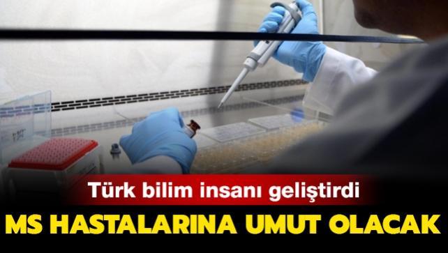Türk bilim insanı MS hastalığına umut oldu